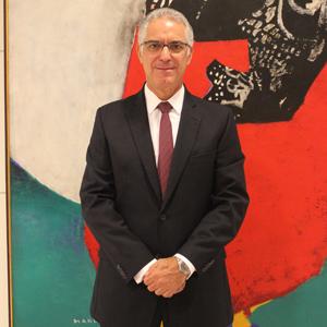 O vice-presidente comercial do Grupo Doria, Álvaro Leopoldo e Silva