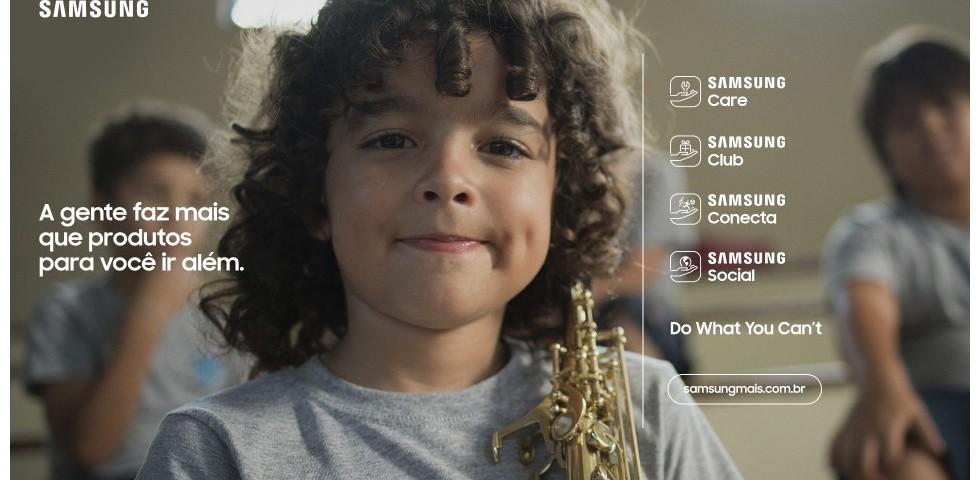 Fa De Kenny G Estrela Novo Posicionamento Da Samsung Brasil Propmark